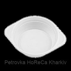 Тарілка пластик Супова 0,5 л Біла 100шт