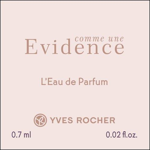 Парфюмерная вода comme une Evidence 0.7ml