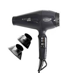 Фен для волос профессиональный Coifin A2R-ion-черн Korto, 2200-2400 Вт