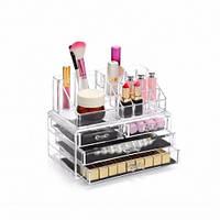 Акриловый органайзер для косметики Cosmetic storage Box настольный