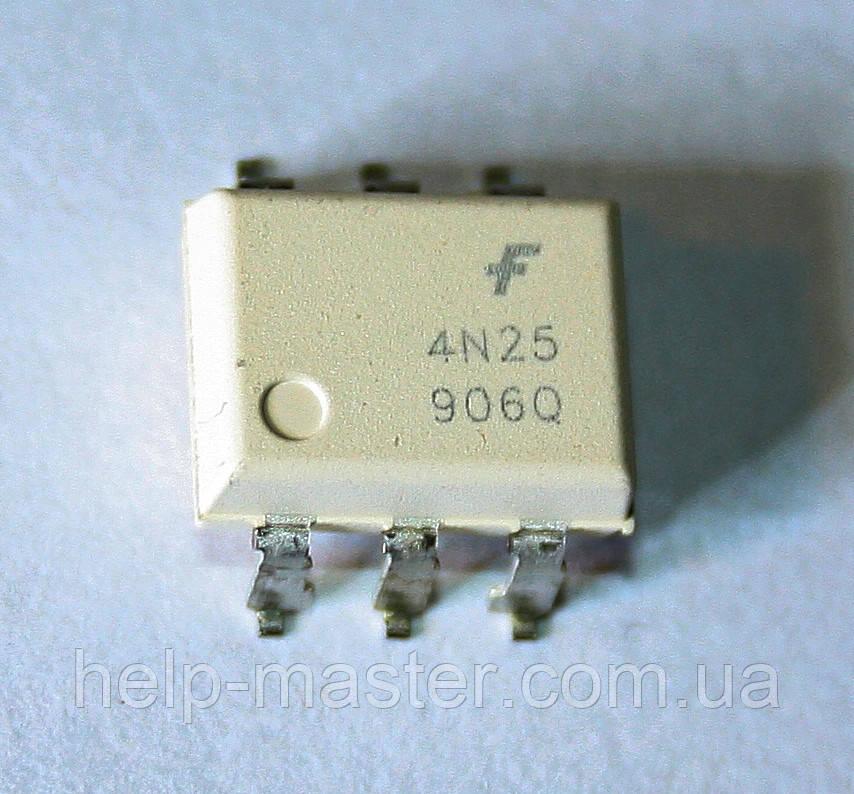 Оптрон 4N25S (SMD-6)