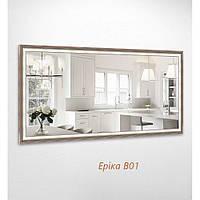 Дзеркало прямокутне Еріка B01 БЦ-Стол, фото 1