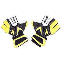 Вратарские перчатки Reasuch Latex Foam Желто-черный