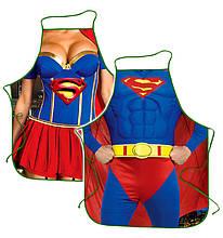 Фартуки для влюбленных пар superwoman superman