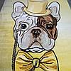 Коврик детский собачка в шляпе 1.60х2.30 м.