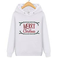Толстовка MERRY CHRISTMAS  для детей (начос), фото 1