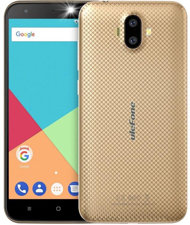 Смартфон Ulefone S7 2/16Gb Golden Гарантия 3 месяца