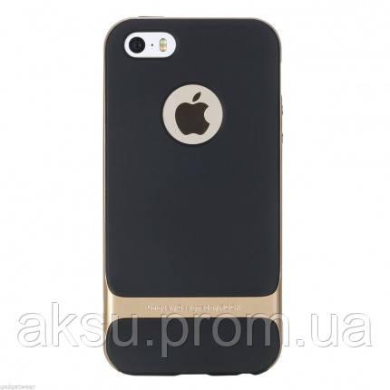 Чехол для iPhone 5 / 5s / SE Rock Royce (Gold)