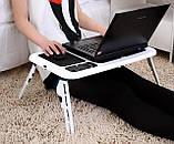 E-TABLE підставка столик для ноутбука з охолодженням, фото 4