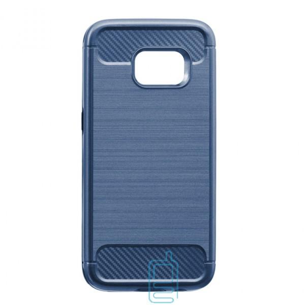 Чехол-накладка Motomo X6 Samsung S7 G930 синий