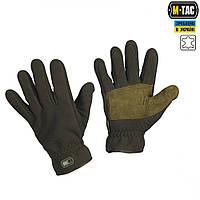 Перчатки флисовые M-Tac, Winter Tactical Windblock, олива