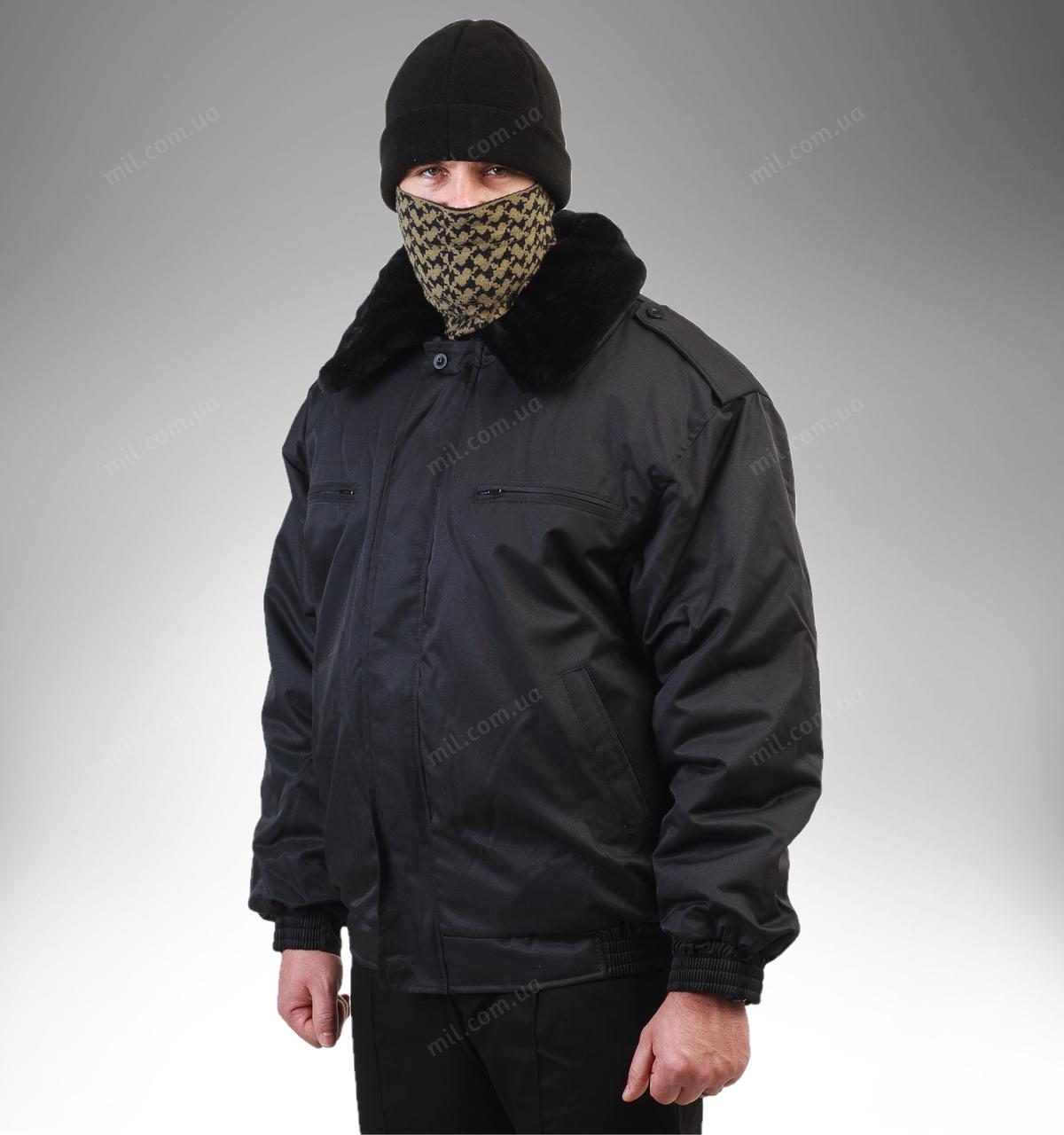 Бушлат охрана «черный»
