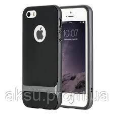 Чехол для iPhone 5 / 5s / SE Rock Royce (Iron Gray)