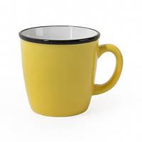 Чашку керамическое с черным ободком REGINA, 340 мл, фото 1