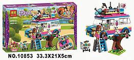 """Конструктор BELA 10853 Friend (Аналог Lego Friends 41333) """"Передвижная научная лаборатория Оливии"""", 228 дет"""