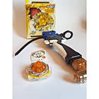 Бейблейд (Beyblade) BurstTop с пусковым устройством Yellow Супер Атакующий, фото 4