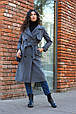 Зимнее пальто тренч , фото 2