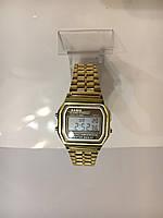 Мужские наручные электронные часы CASIO (Касио), золотой, фото 1