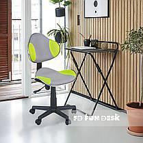 Детское компьютерное кресло FunDesk LST3 Green-Grey, фото 3