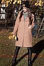 Женское теплое Пальто из экомеха 71pt158, фото 3