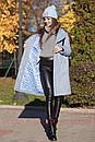 Женское теплое Пальто из экомеха 71pt158, фото 4