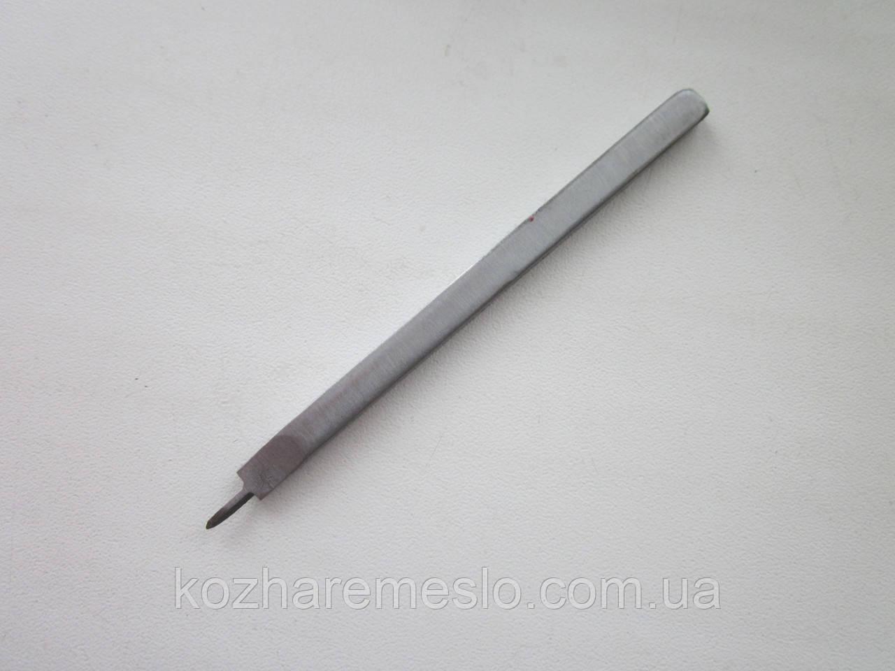 Пробойник шаговый (вилковый) для кожи шаг 3 мм (1 зуб)