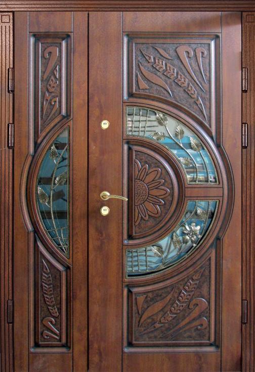Широкие двери входные Елит_2045