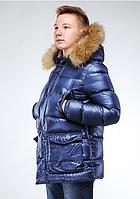 Детская теплая куртка на мальчика Moris (42–48р) в расцветках