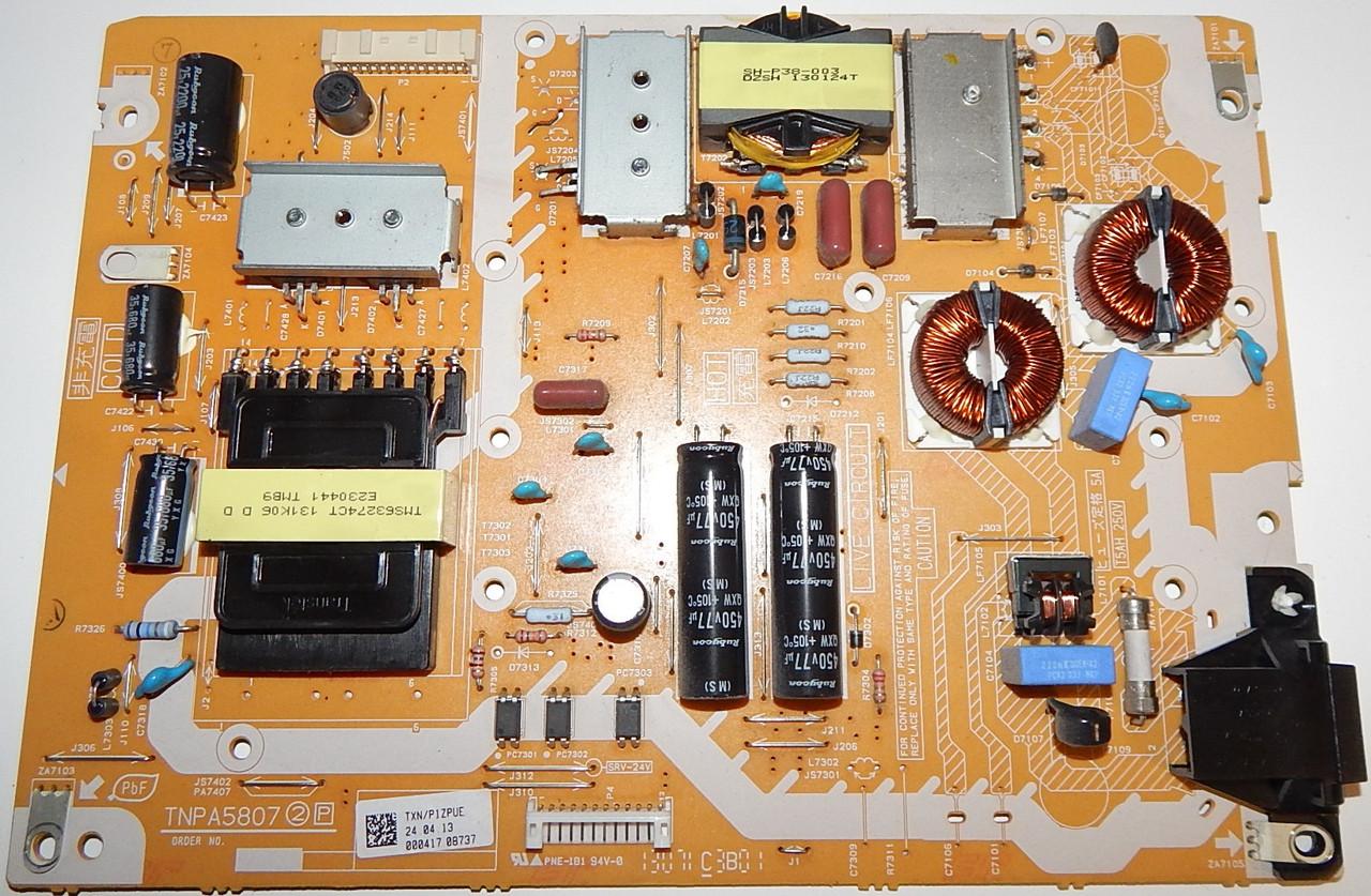 Блок питание TNPA5807 к телевизору PANASONIC TX-L50B6E