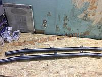 Пороги труба боковые подножки цвет молотковый на Chery Tiggo 2010-2012