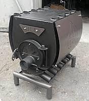 Булерьян, отопительная печь в кожухе - варочная поверхность тип 05 - 1200 м.куб.