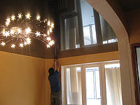 Натяжные потолки, монтаж., фото 1