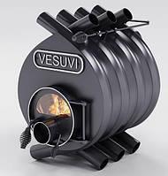 Булерьян, отопительная печь «VESUVI» Classic «02» со стеклом 18 кВт-400 М3