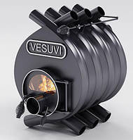 Булерьян, отопительная печь «VESUVI» Classic «01» со стеклом 11 кВт-250 М3