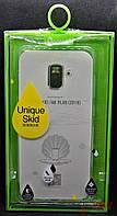 Силиконовая накладка OuCase прозрачная к телефону Samsung A8+ (00000010120)