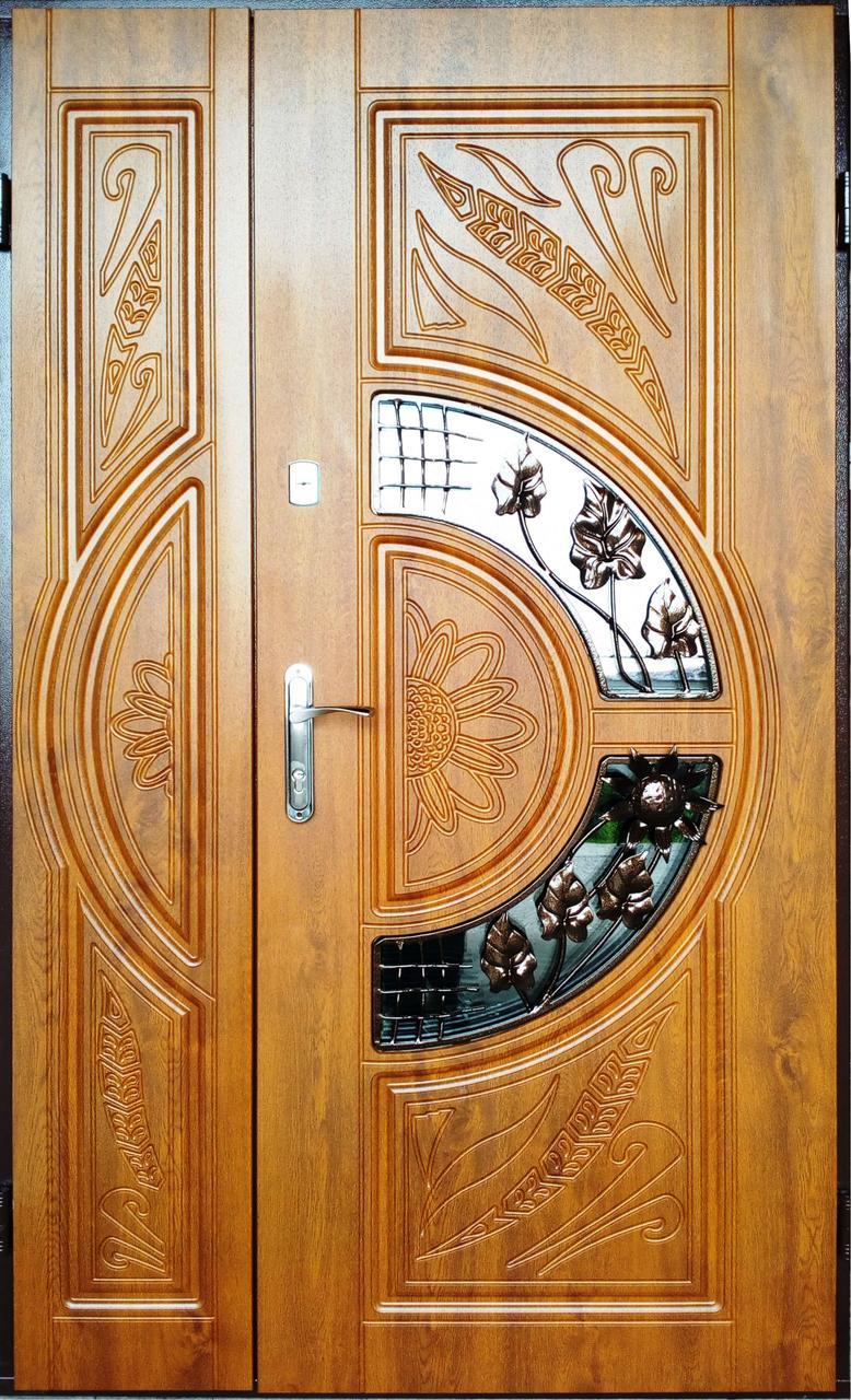 Широкие двери входные Елит_2046