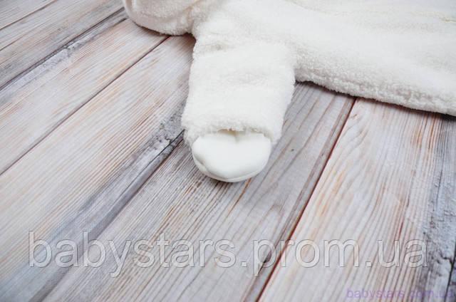 комбинезон с отворотами-рукавичками
