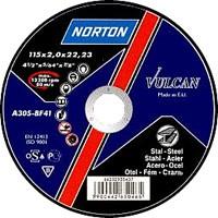 Отрезные  круги Нортон Вулкан 125 x 1,2 x 22