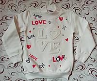 Гольф  девочке LOVE 3-D, р. 122