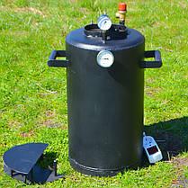 Автоклав электрический Троян 24 банки по 0,5 литра или 12 банок 1 литр(углеродистая сталь) , фото 3