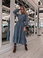 Серое платье в полоску в категории платья женские в Украине ... 33e856419c3