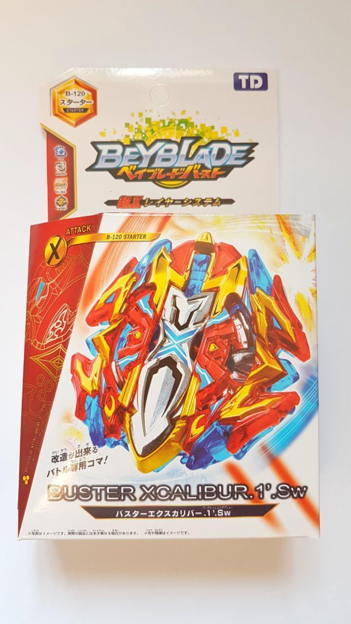 Бейблейд Экскалиус бустер Beyblade Buster Xcalibur X4 B-120