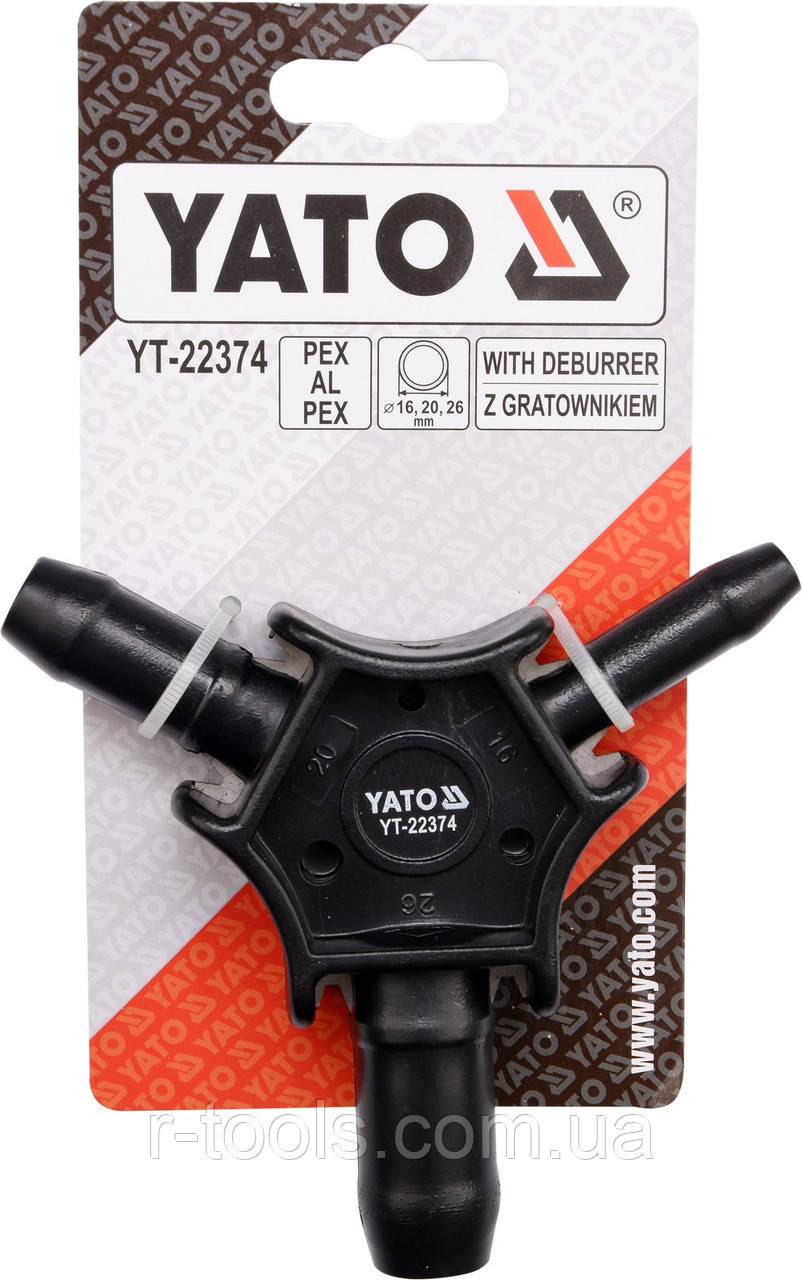 Калибратор фаскосниматель сантехнический Yato YT-22374