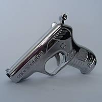 Зажигалка в виде пистолета с шокером