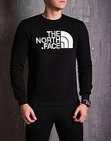 Теплый свитшот The North Face черный топ реплика