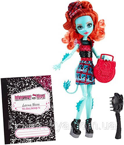 Кукла Monster High Лорна МакНесси - Monster Exchange Program Lorna McNessie