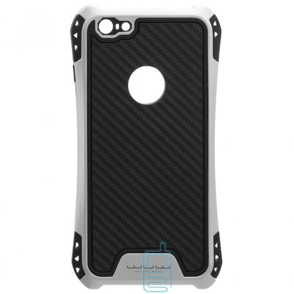 Чехол силиконовый WUW X1 Apple iPhone 6 Plus, 6S Plus серебристый