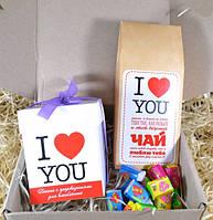 Вкусный подарок I Love You