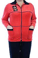 Велюровый женский спортивный костюм K117-5