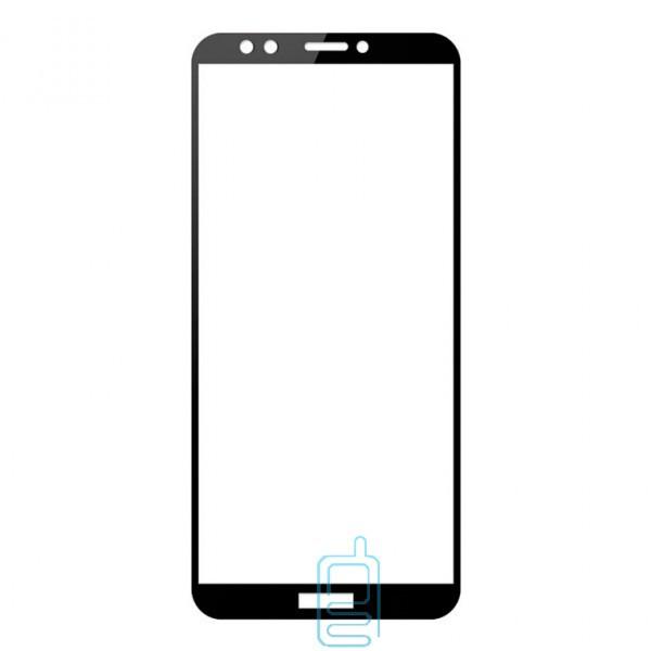 Защитное стекло Full Screen Huawei Y6 2018, Y6 Prime 2018, Honor 7A Pro black тех.пакет
